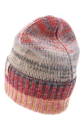 Женский кашемировая шапка FTC разноцветного цвета, арт. 003-8030 | Фото 2