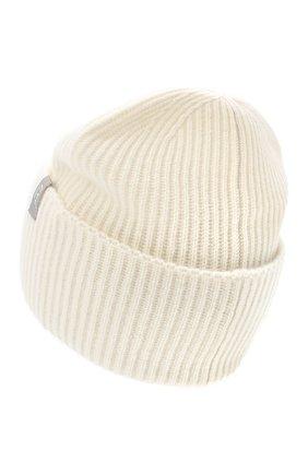Женский кашемировая шапка FTC белого цвета, арт. 800-0950 | Фото 2