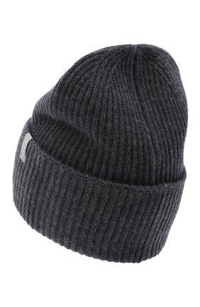 Женский кашемировая шапка FTC серого цвета, арт. 800-0950 | Фото 2