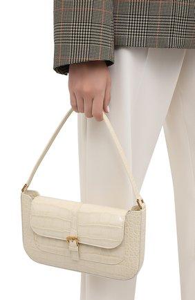 Женская сумка miranda BY FAR кремвого цвета, арт. 19FWMDASCEDMED | Фото 2