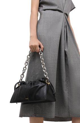 Женская сумка bom YUZEFI черного цвета, арт. YUZPF20-B0-07   Фото 2