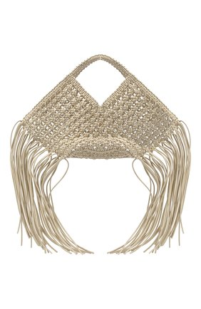Женский сумка basket YUZEFI белого цвета, арт. YUZPF20-SW-01 | Фото 1