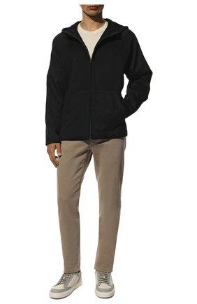 Мужская кашемировая куртка LORO PIANA темно-синего цвета, арт. FAL3031 | Фото 2