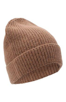 Мужская шапка из шерсти и шелка BRIONI бежевого цвета, арт. 04M80L/09K32 | Фото 1