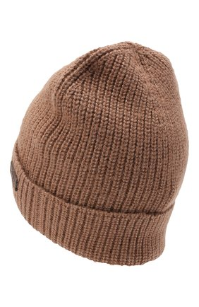 Мужская шапка из шерсти и шелка BRIONI бежевого цвета, арт. 04M80L/09K32 | Фото 2