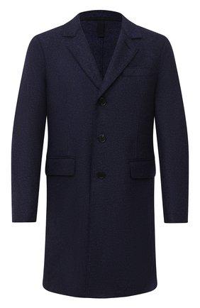Мужской шерстяное пальто HARRIS WHARF LONDON синего цвета, арт. C9113MLK | Фото 1