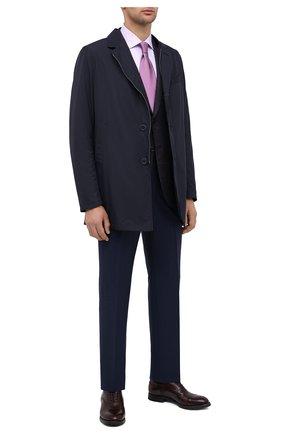 Мужские кожаные оксфорды W.GIBBS бордового цвета, арт. 0337003/2280 | Фото 2