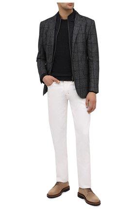 Мужской шерстяной пиджак CORNELIANI темно-серого цвета, арт. 866557-0816200/80 | Фото 2
