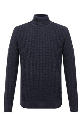 Мужской шерстяной свитер WINDSOR темно-синего цвета, арт. 13 T0NI0-TN 10009787 | Фото 1