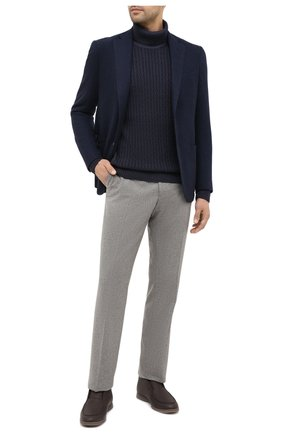 Мужской шерстяной свитер WINDSOR темно-синего цвета, арт. 13 T0NI0-TN 10009787 | Фото 2