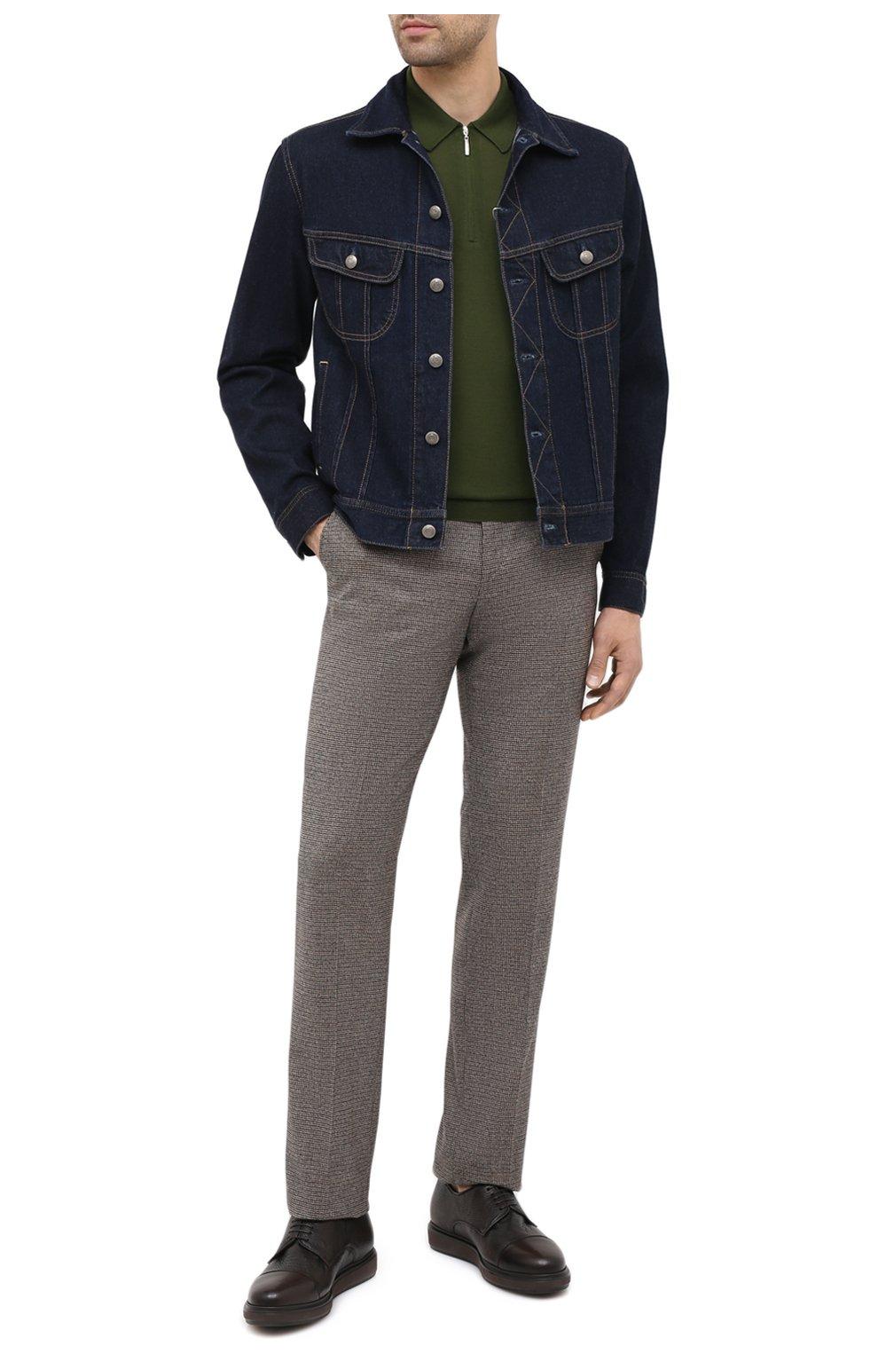 Мужские кожаные дерби BARRETT коричневого цвета, арт. BRERA-20.3/CERV0 ASP0RTABILE | Фото 2