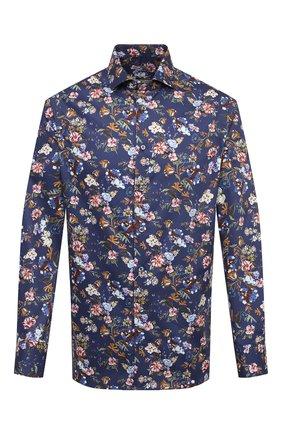 Мужская хлопковая рубашка VAN LAACK синего цвета, арт. RAND0-SFN/171589 | Фото 1
