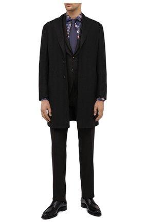 Мужская хлопковая рубашка VAN LAACK синего цвета, арт. RAND0-SFN/171589 | Фото 2