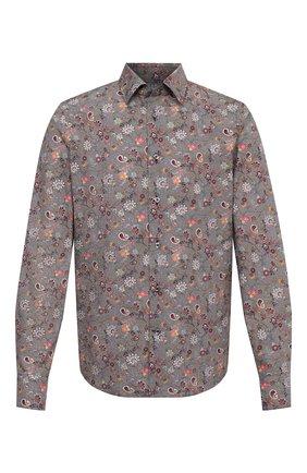 Мужская хлопковая рубашка VAN LAACK коричневого цвета, арт. RET0N1-SF/171477 | Фото 1