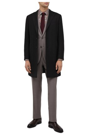 Мужская хлопковая рубашка VAN LAACK коричневого цвета, арт. RET0N1-SF/171477 | Фото 2