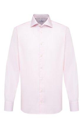 Мужская хлопковая сорочка VAN LAACK розового цвета, арт. RIVARA-TF/150182 | Фото 1
