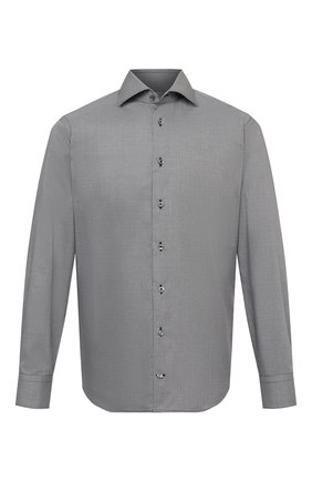 Мужская хлопковая сорочка VAN LAACK темно-серого цвета, арт. RIVARA-TF/162801 | Фото 1