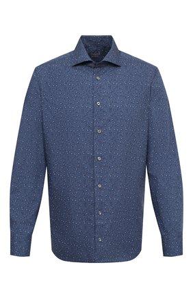 Мужская хлопковая сорочка VAN LAACK темно-синего цвета, арт. RIVARA-TF/171669 | Фото 1