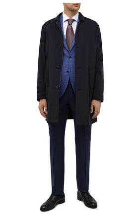 Мужской кожаные дерби ERMENEGILDO ZEGNA черного цвета, арт. A4379X-LHCV0 | Фото 2