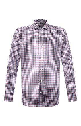Мужская хлопковая сорочка LUCIANO BARBERA разноцветного цвета, арт. 155429/72805 | Фото 1
