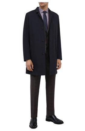 Мужская хлопковая сорочка LUCIANO BARBERA разноцветного цвета, арт. 155429/72805 | Фото 2
