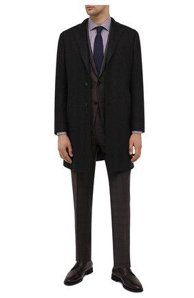 Мужская хлопковая сорочка LUCIANO BARBERA разноцветного цвета, арт. 155429/73212 | Фото 2 (Рукава: Длинные; Материал внешний: Хлопок; Длина (для топов): Стандартные; Случай: Формальный; Стили: Кэжуэл)