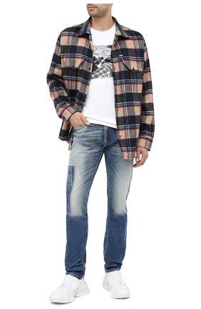 Мужские джинсы DIESEL синего цвета, арт. 00SB6D/009FK | Фото 2