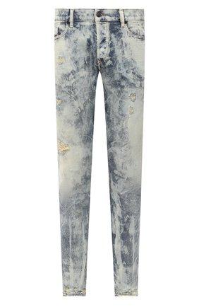 Мужские джинсы DIESEL голубого цвета, арт. 00SWID/009FM | Фото 1