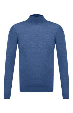 Мужской водолазка из шерсти и шелка GRAN SASSO голубого цвета, арт. 57131/13190 | Фото 1
