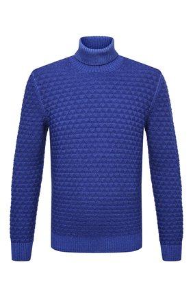 Мужской шерстяной свитер GRAN SASSO синего цвета, арт. 23146/22753 | Фото 1