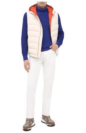 Мужской шерстяной свитер GRAN SASSO синего цвета, арт. 23146/22753 | Фото 2