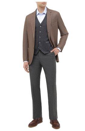 Мужской шерстяной жилет GRAN SASSO темно-серого цвета, арт. 57117/14229 | Фото 2