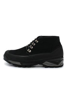 Мужские комбинированные ботинки DIEMME черного цвета, арт. DI1907AS01/M   Фото 3