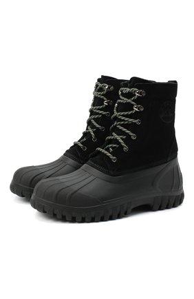 Мужские комбинированные ботинки DIEMME черного цвета, арт. DI2007AN01/M | Фото 1