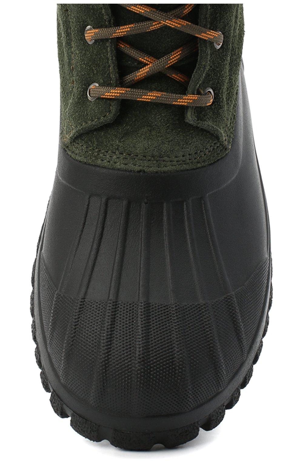 Мужские комбинированные ботинки DIEMME зеленого цвета, арт. DI2007AN08/M   Фото 5