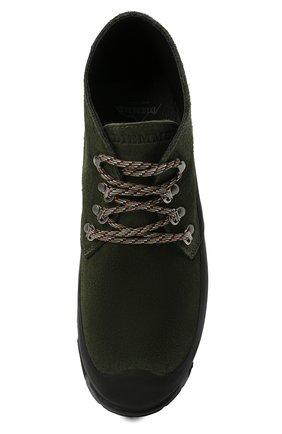 Мужские комбинированные ботинки DIEMME темно-зеленого цвета, арт. DI2007AS02/M | Фото 5