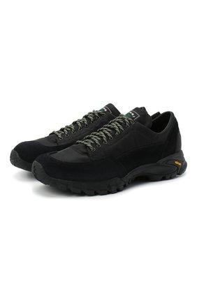 Мужские комбинированные кроссовки DIEMME черного цвета, арт. DI2007P001/M | Фото 1