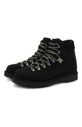 Мужские замшевые ботинки DIEMME черного цвета, арт. DI2007RV06/M | Фото 1