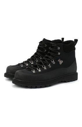 Мужские комбинированные ботинки DIEMME черного цвета, арт. DI2007RV25/M | Фото 1