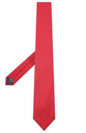 Мужской шелковый галстук BRIONI красного цвета, арт. 062I00/09484 | Фото 2