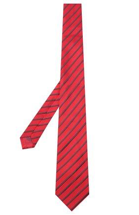 Мужской шелковый галстук BRIONI красного цвета, арт. 062I00/09470 | Фото 2