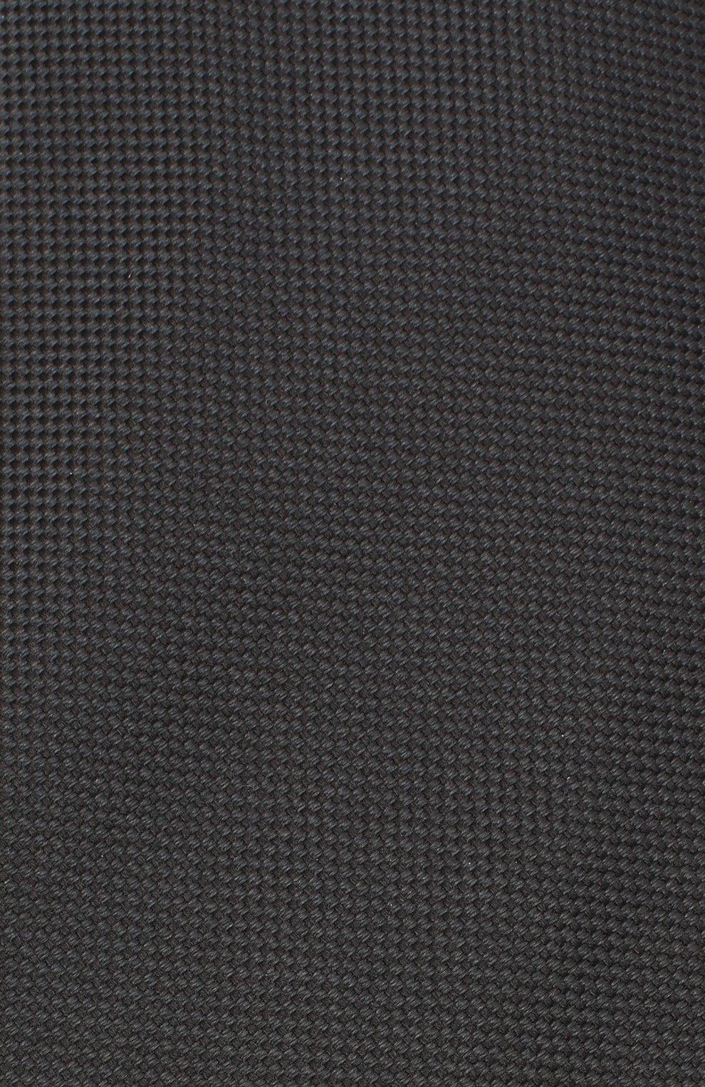 Мужской шелковый галстук BRIONI черного цвета, арт. 062I00/09459   Фото 3 (Материал: Текстиль; Принт: Без принта)