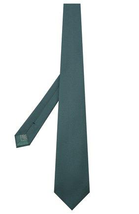 Мужской шелковый галстук BRIONI зеленого цвета, арт. 062I00/09459 | Фото 2
