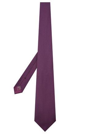 Мужской шелковый галстук BRIONI фиолетового цвета, арт. 062I00/09459 | Фото 2