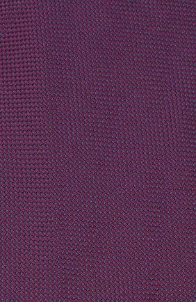 Мужской шелковый галстук BRIONI фиолетового цвета, арт. 062I00/09459 | Фото 3 (Материал: Текстиль; Принт: Без принта)