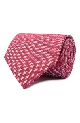 Мужской шелковый галстук BRIONI красного цвета, арт. 062I00/09459 | Фото 1