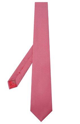 Мужской шелковый галстук BRIONI красного цвета, арт. 062I00/09459 | Фото 2