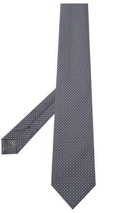 Мужской шелковый галстук BRIONI серого цвета, арт. 062I00/09426 | Фото 2