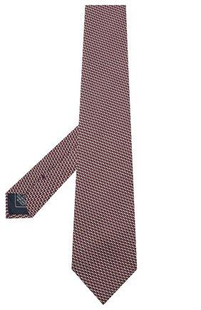 Мужской шелковый галстук BRIONI бордового цвета, арт. 062I00/0941Z | Фото 2