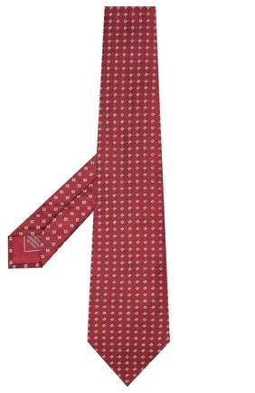 Мужской шелковый галстук BRIONI красного цвета, арт. 062H00/09455 | Фото 2